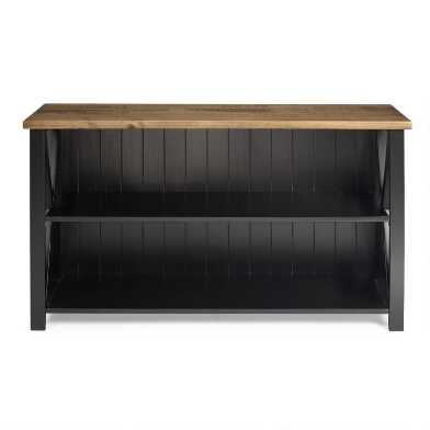 Distressed Pine Top Westfall Console Table