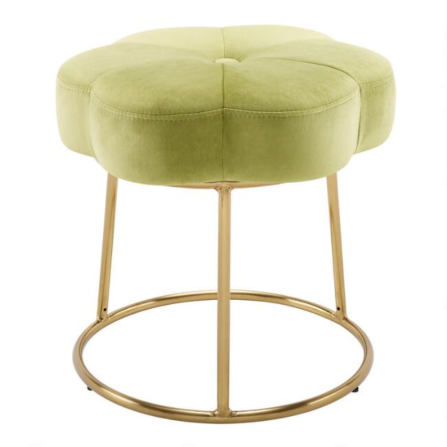 Velvet Flower Angelina Stool