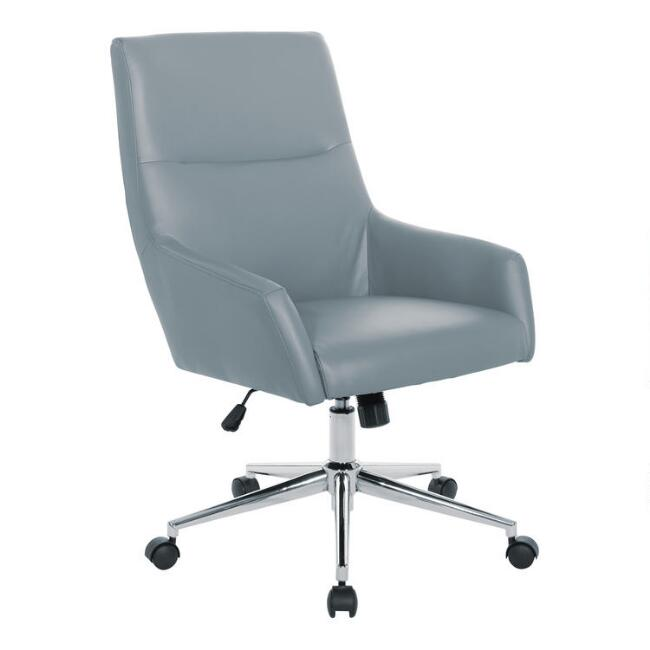 Faux Leather Liam Upholstered Office Chair
