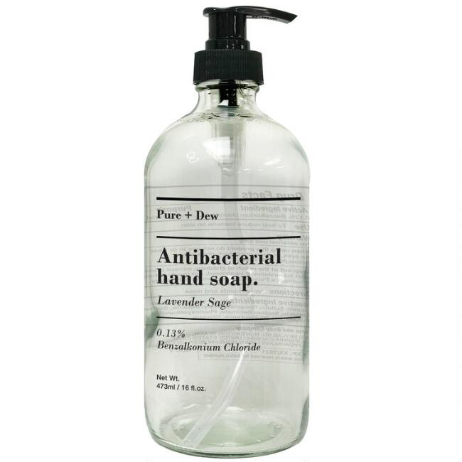 Pure and Dew Lavender Sage Antibacterial Liquid Hand Soap