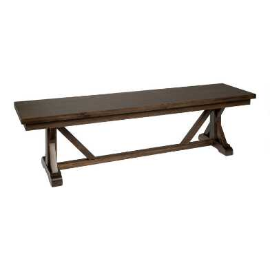 Burnt Alder Farmhouse Granger Dining Bench