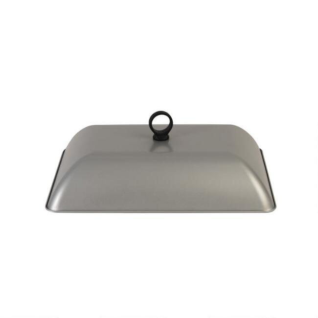 Nonstick Stainless Steel Grill Dome