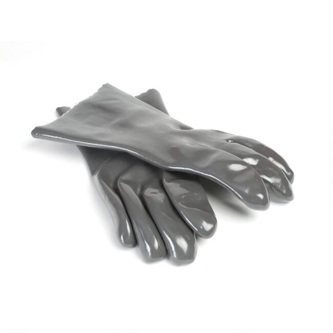Gray Heat Safe Insulated Food Handling Gloves