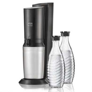 Black SodaStream® Aqua Fizz Sparkling Water Maker Kit