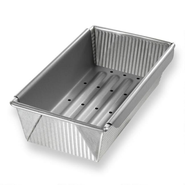 USA Pan® Nonstick Metal Meat Loaf Pan with Insert