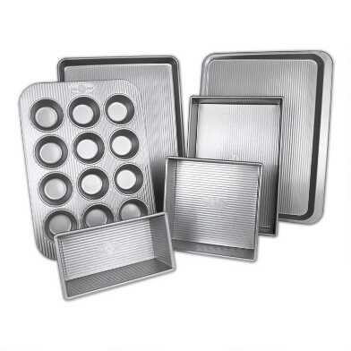 USA Pan® Nonstick Metal 6 Piece Bakeware Set