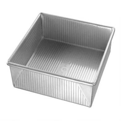 USA Pan® Square Nonstick Metal Cake Pan