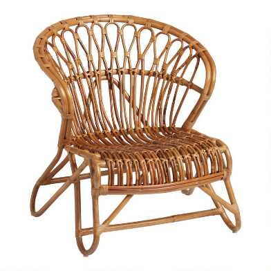Rattan & Natural Fiber Chairs