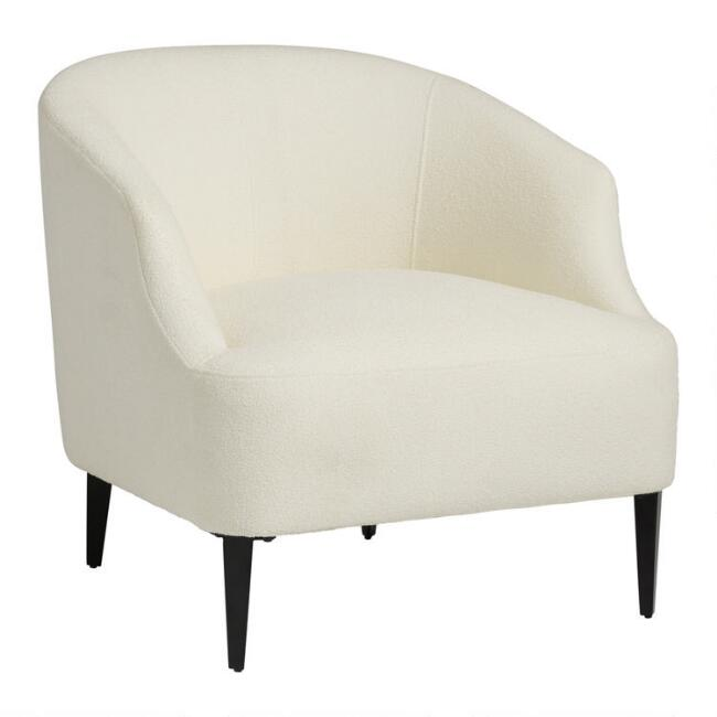Ivory Carla Upholstered Chair