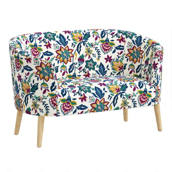 Print Kiana Upholstered Loveseat