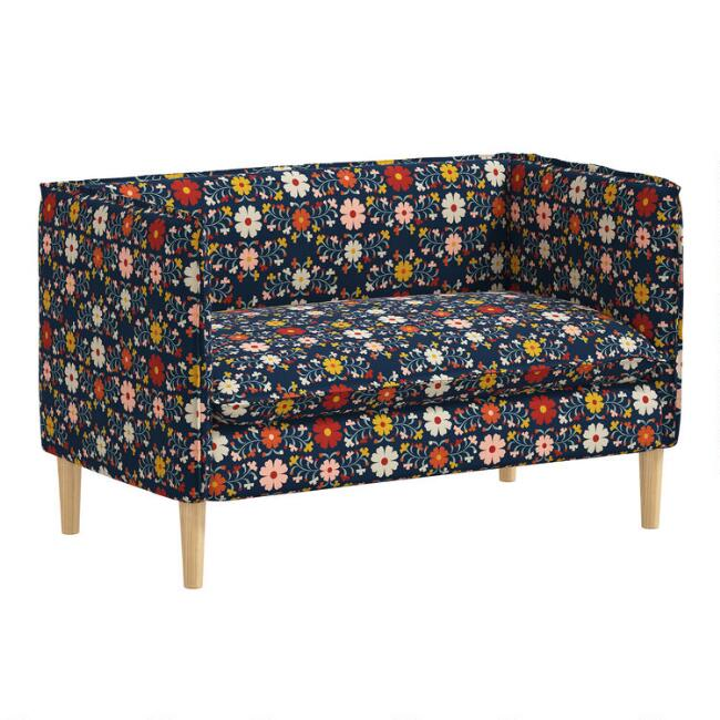 Print Adah Upholstered Loveseat