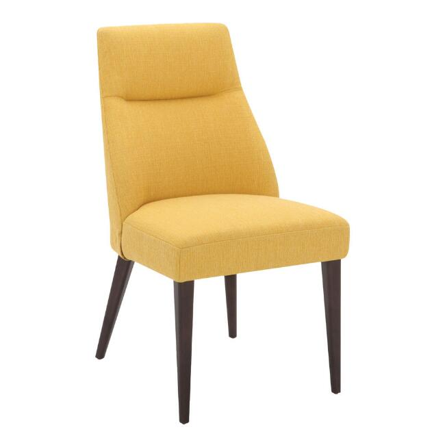 Natural Harlou Upholstered Dining Chair