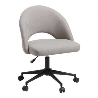 Gray Gunnison Upholstered Office Chair