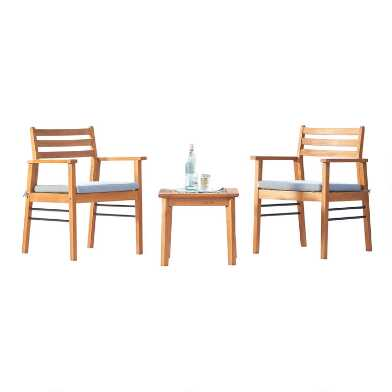 Eucalyptus Keon 3 Piece Outdoor Occasional Set