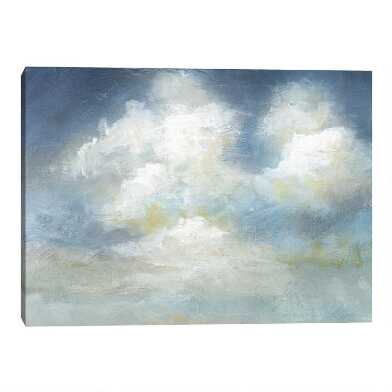 Golden Cloudscape I By Melissa Charles Canvas Wall Art
