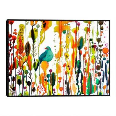 Retrouver Son Chemin By Sylvie Demers Framed Canvas Wall Art