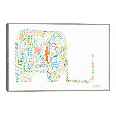 Ellimaze By Wyanne Framed Canvas Wall Art