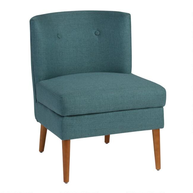 Button Tufted Eren Upholstered Chair