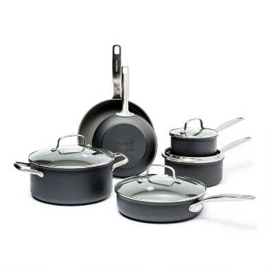 GreenPan Chatham 10 Piece  Nonstick Ceramic Cookware Set