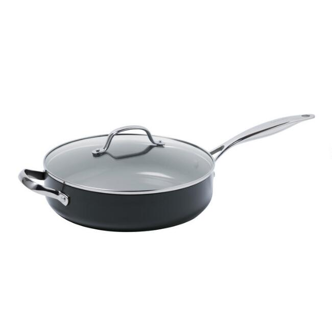 GreenPan Valencia Pro Nonstick Ceramic Saute Pan with Lid