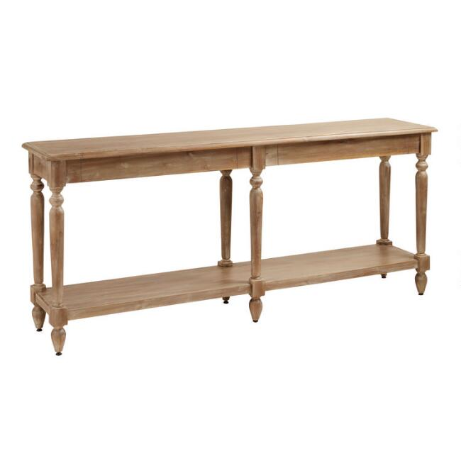 Weathered Natural Everett Foyer Table