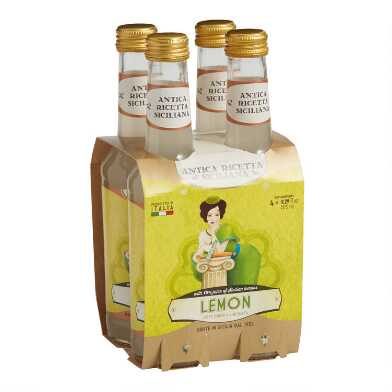 Polara Limonata Sicilian Lemonade Soda 4 Pack