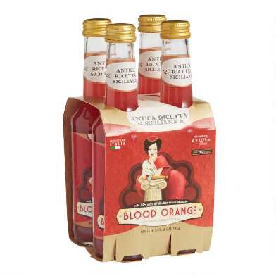 Polara Arancia Rossa Sicilian Blood Orange Soda 4 Pack
