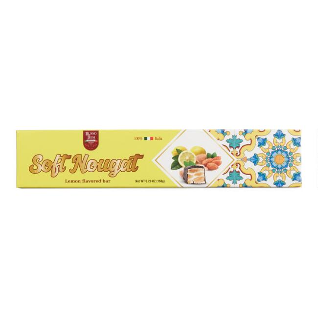 Russo Tiesi Lemon Soft Nougat Bar