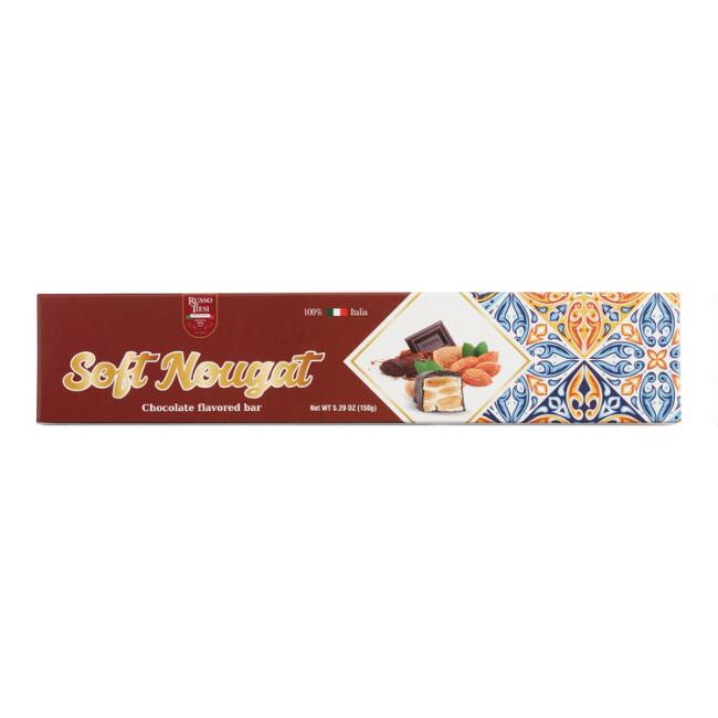 Russo Tiesi Chocolate Soft Nougat Bar