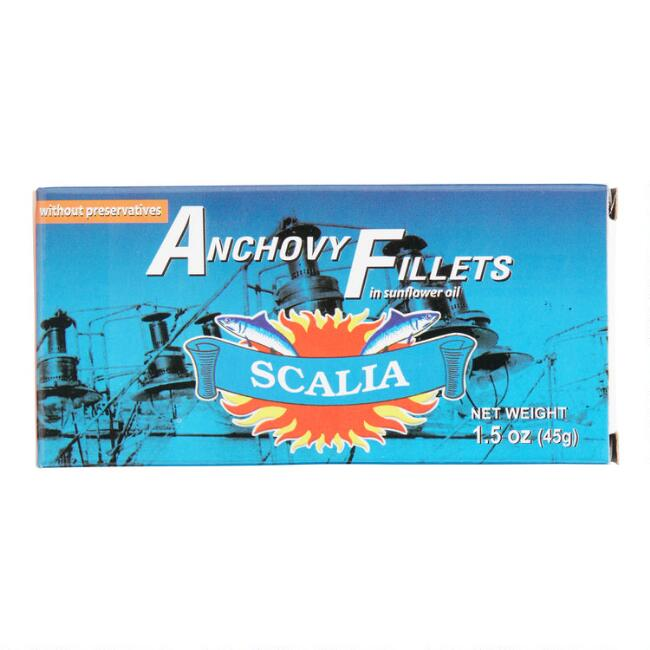 Scalia Anchovy Fillets in Sunflower Oil