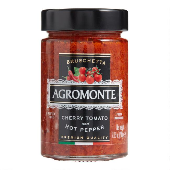 Agromonte Cherry Tomato And Hot Pepper Tapenade