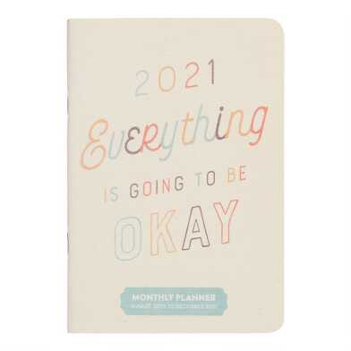 Everything is Going to Be Okay 2021 Pocket Planner