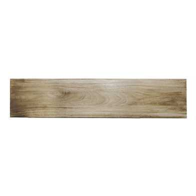 4 Ft Blonde Mango Wood Wall Shelf