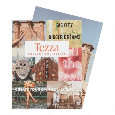 Pretty City By Tezza Wall Art Prints 7 Piece