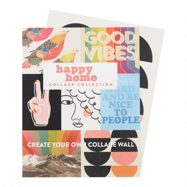 Happy Home Wall Art Prints 7 Piece