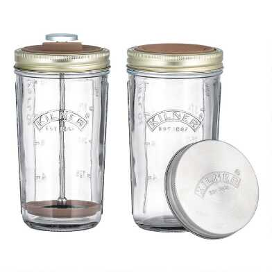 Kilner Glass Jar Nut Drink Making Set
