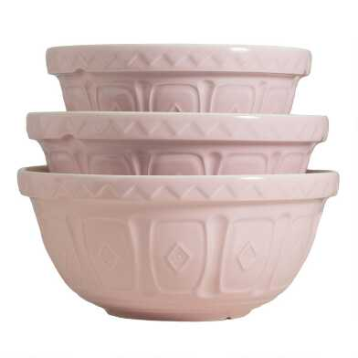 Mason Cash Powder Pink Color Mix Mixing Bowl