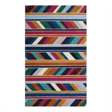 Multicolor Geometric Tate Area Rug