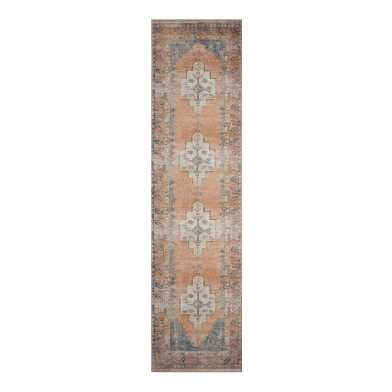 Blush and Blue Persian Style Chelsea Floor Runner