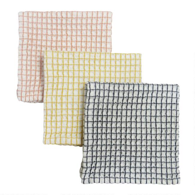 Waffle Weave Dishcloths 3 Count