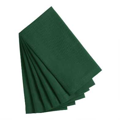 Eden Green Buffet Napkins 6 Count