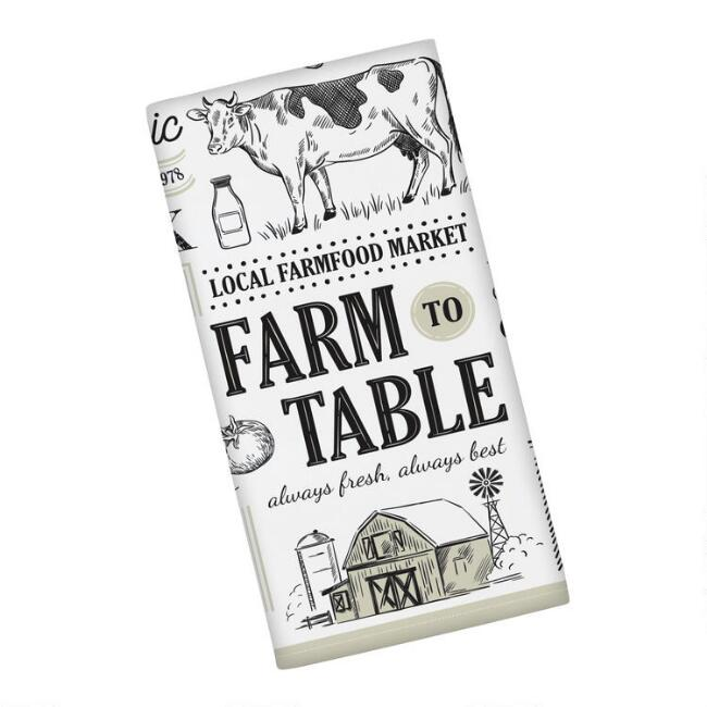 Farm to Table Kitchen Towels Set of 2
