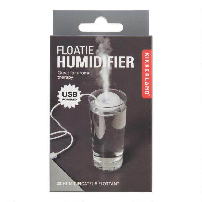Kikkerland White Floatie Humidifier
