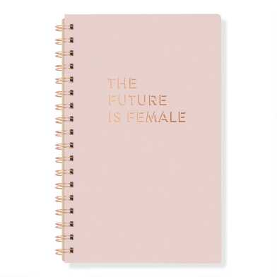 The Future is Female Spiral Journal