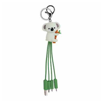 Koala Charging Cable Keychain