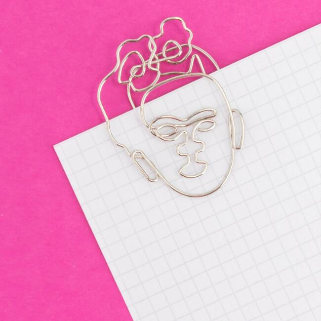 Frida Kahlo Paperclips 5 Pack