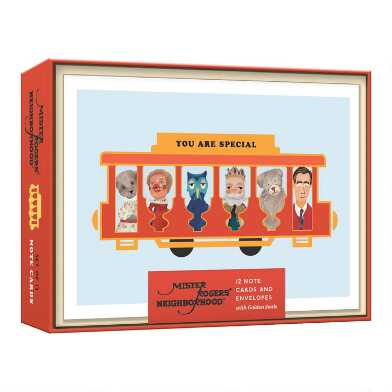 Mister Rogers Boxed Notecards 12 Count