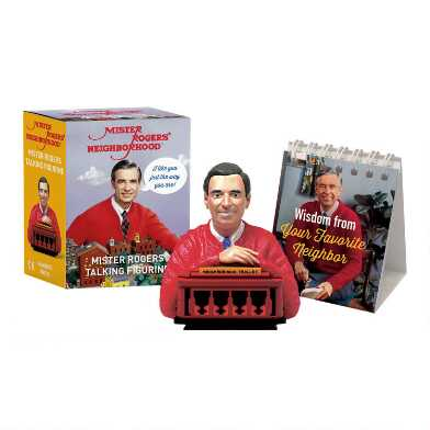 Mini Mister Rogers Talking Figurine Set