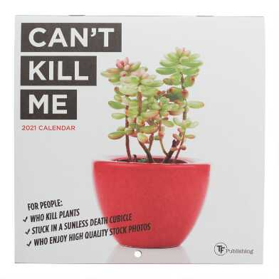 Mini Can't Kill Me 2021 Wall Calendar