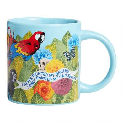 Blue Frida Kahlo Mug